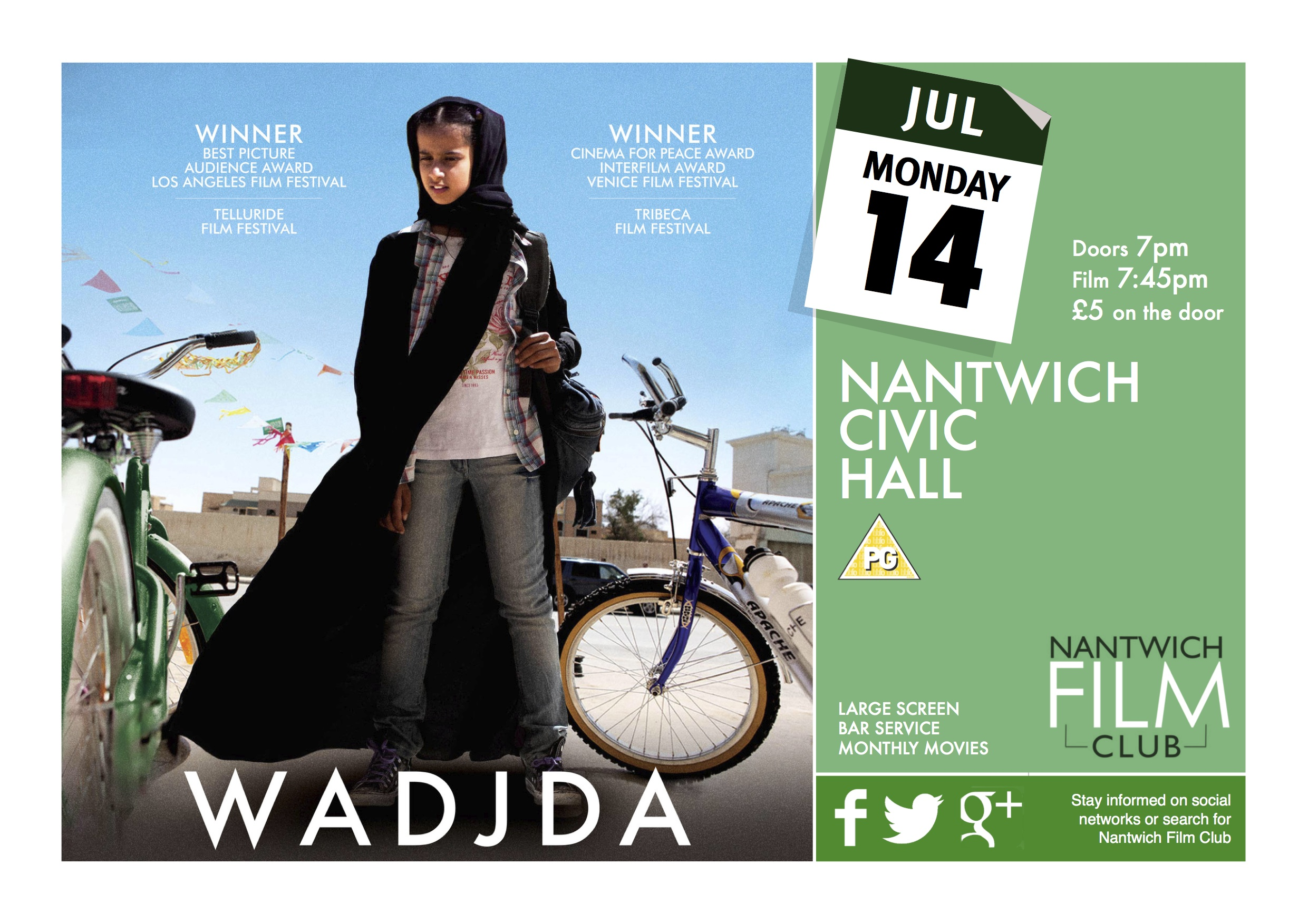 wadjda film review Lff review: saudi arabian film 'wadjda' is a phenomenal debut from an exciting new talent.